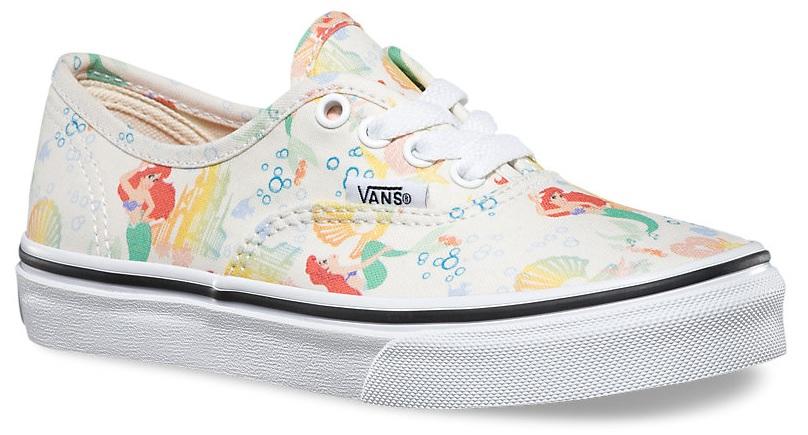 4a0ae06b6a9 detské topánky vans AUTHENTIC (DISNEY) Ariel White