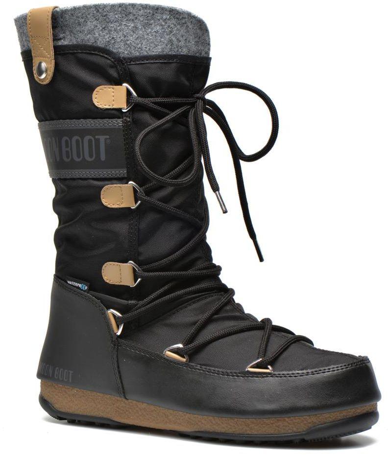 dámske zimné topánky moon boot W.E. MONACO FELT Black aad1cfdffbb