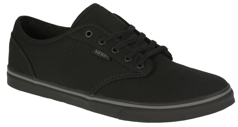 1ec753672d dámske topánky vans ATWOOD LOW (Canvas) Black Black