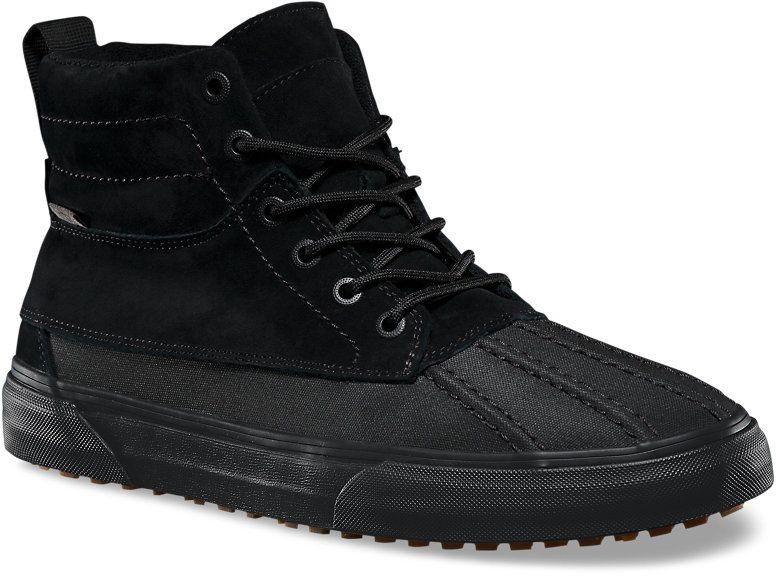 813b8080a9c36 pánske zimné topánky vans SK8-HI DEL PATO MTE (MTE) Black/Black