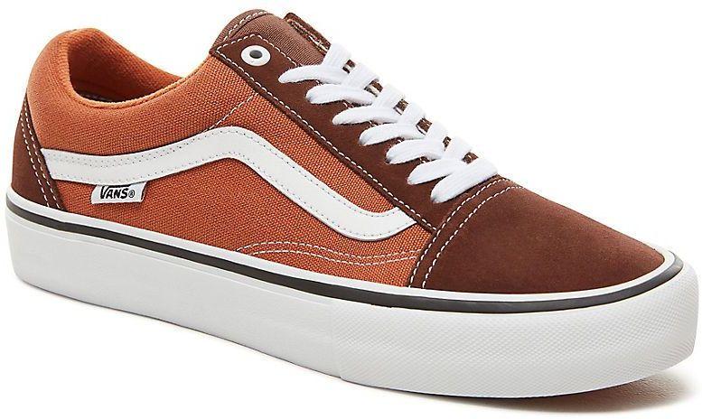007bb3084bf pánske topánky vans OLD SKOOL PRO Potting Soil Leather Brown