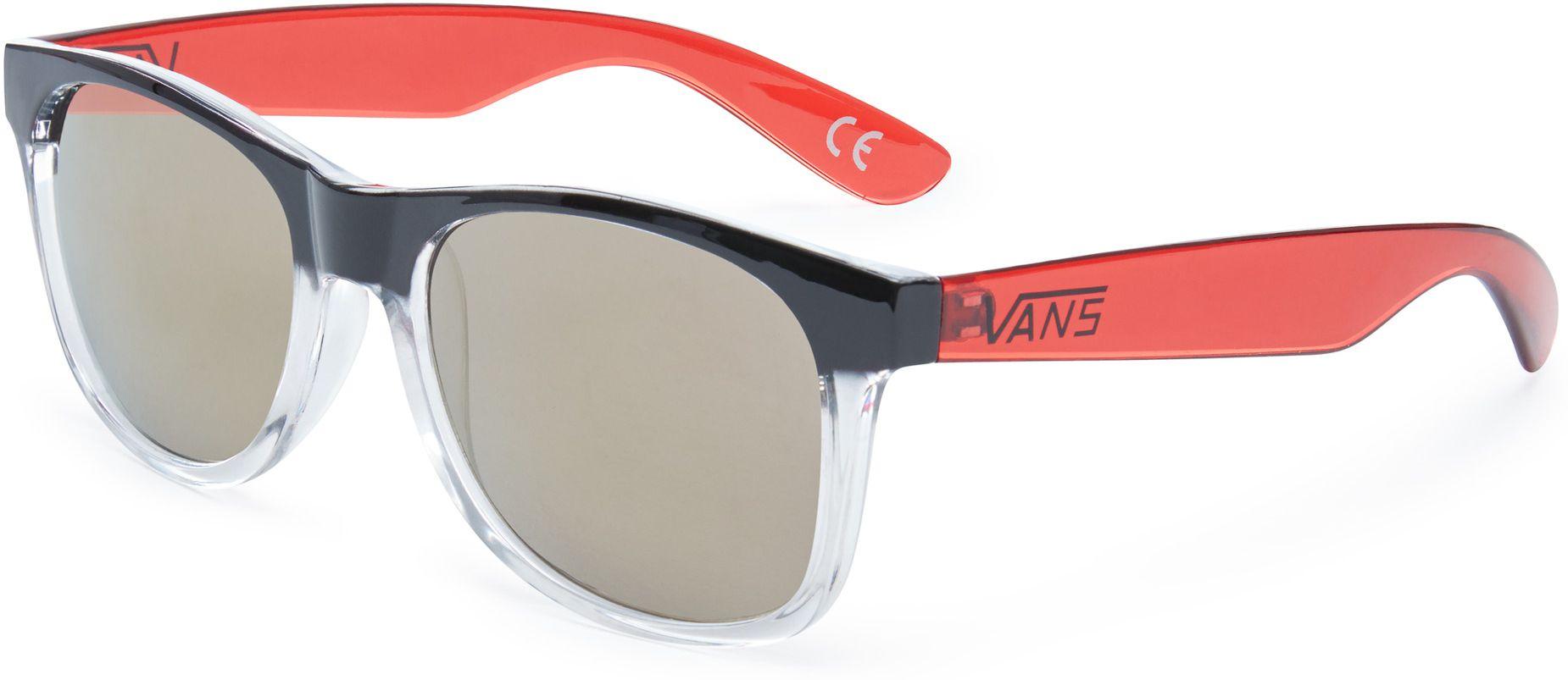 slnečné okuliare vans SPICOLI 4 SHADES Clear Black Chili Pepper eda6f893ce6