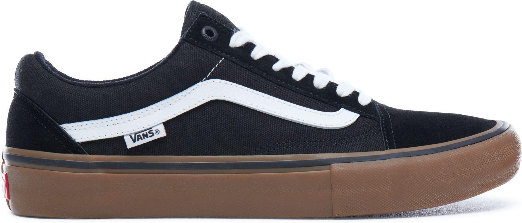 f40e5e9a4fd pánske topánky vans OLD SKOOL PRO Black White Gum