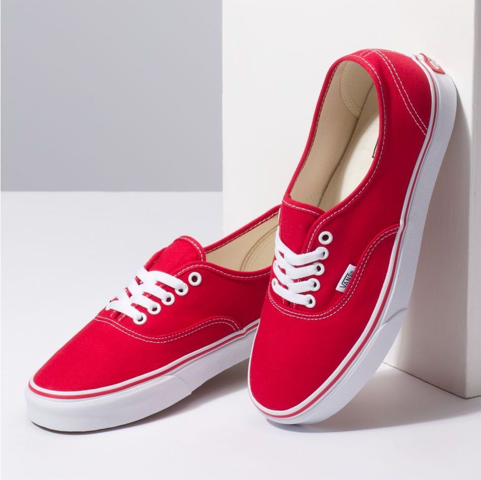 topánky VANS AUTHENTIC Red