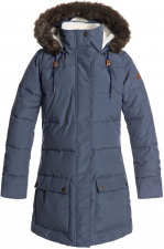 99d97590661f8 dámska street zimná bundaroxy ELLIE Crown Blue - BQY0