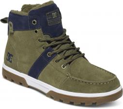 607000265 pánske zimné topánky dc WOODLAND Wheat/Black - WEA